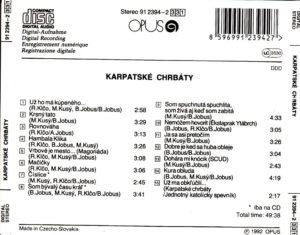 Karpatské Chrbáty 1