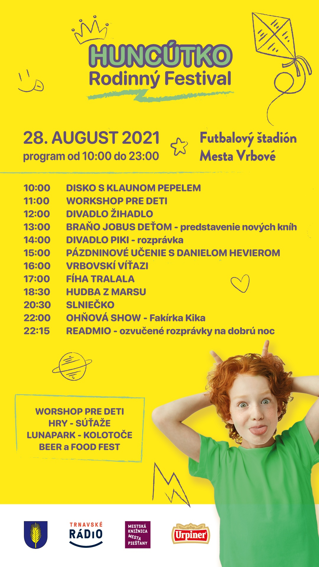 Rodinný festival HUNCÚTKO